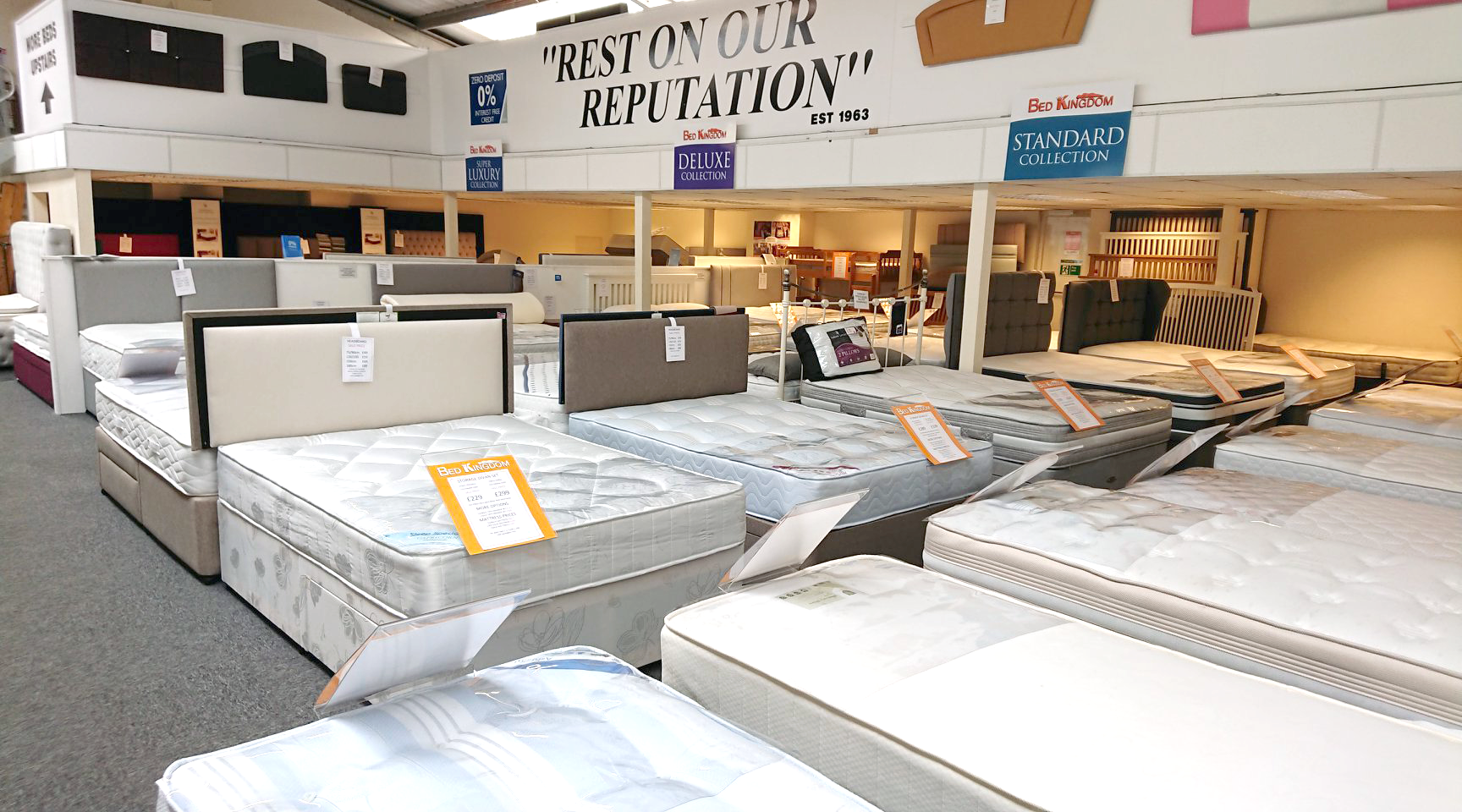 Our Barnstaple Showroom Bed Kingdom