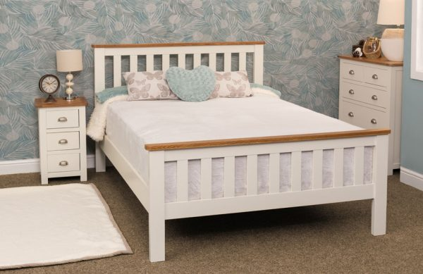 cream and oak frame beds in stock barnstaple offer beds north devon bedstead